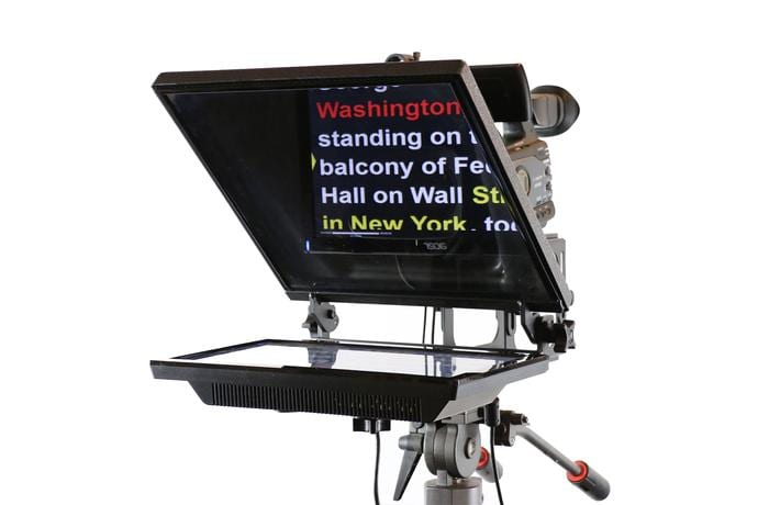 Helping Interviewee's with Teleprompters and prepared scripts | On Point Video