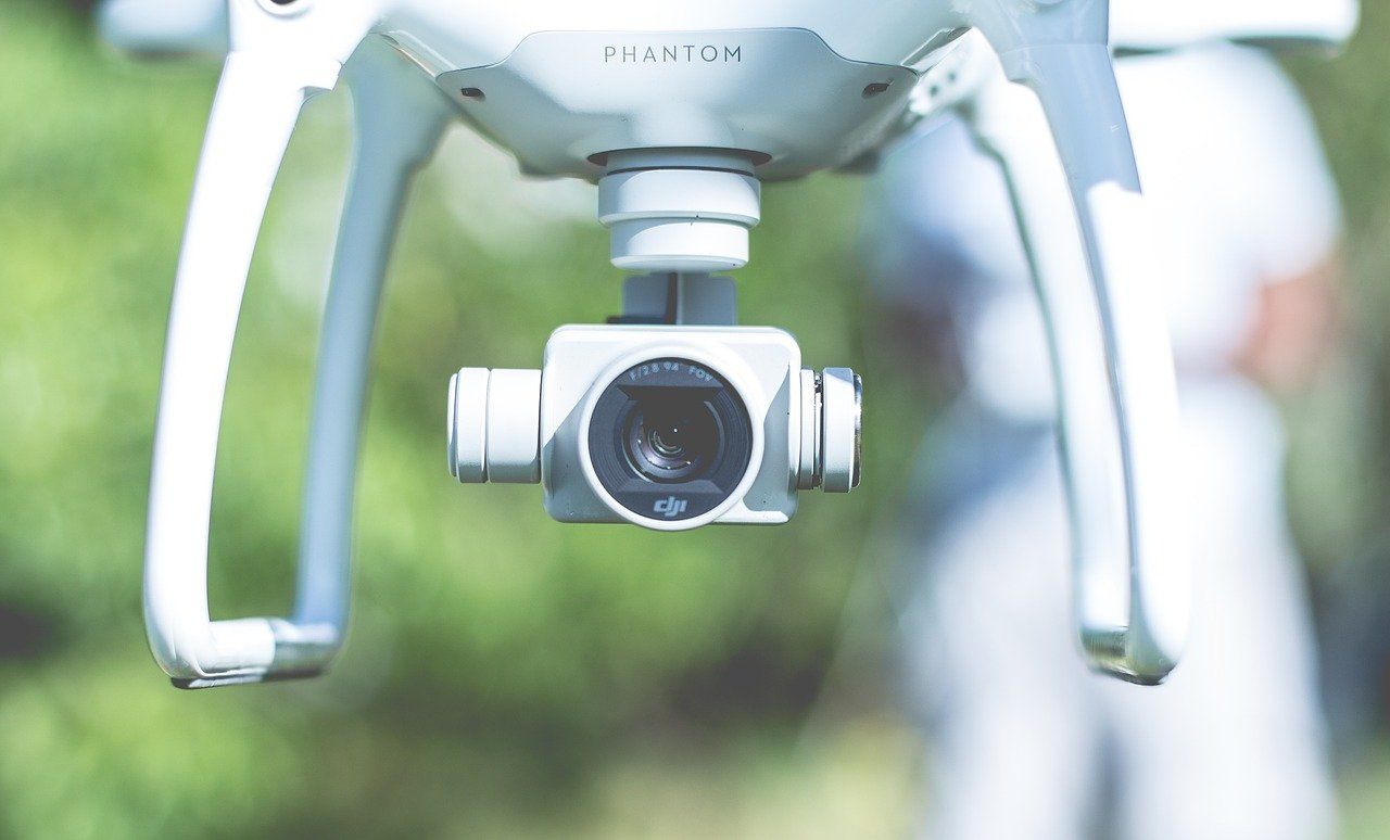 Technology Drone Lens Flying Camera Gadget