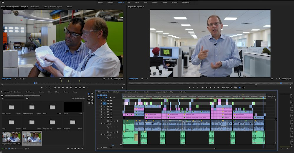 Video Editing Software for Corporate Video Production | On Point Video